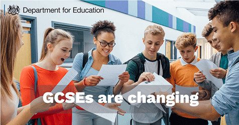 GCSEs are changing
