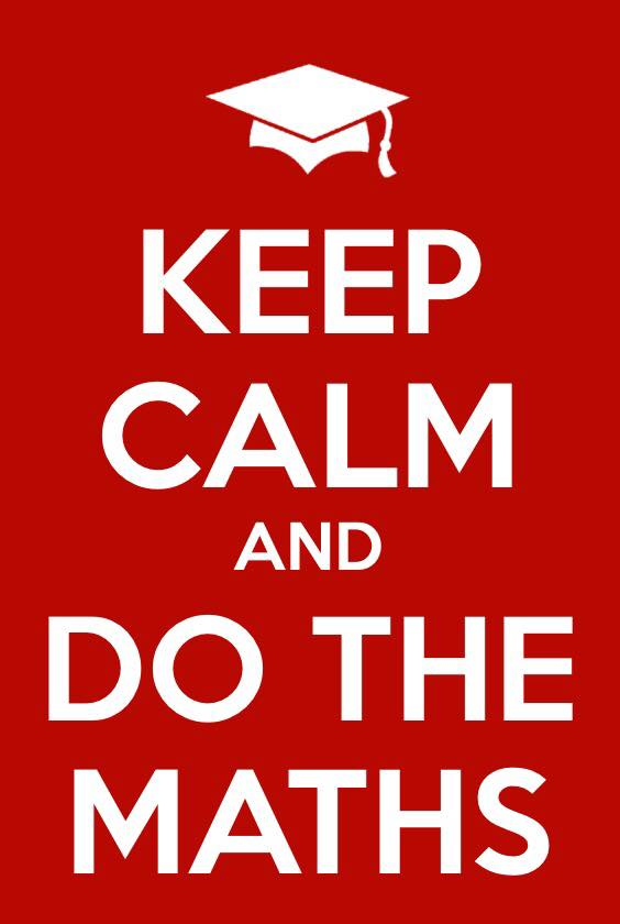 keep calm do the maths